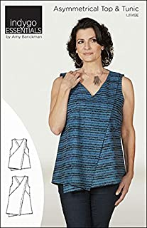 Indygo Junction Essentials Asymmetrical Top and Tunic Sewing Pattern