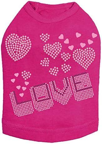 Love Pink Purple - San Francisco Mall Fuchsia Excellent Shirt Dog 4XL