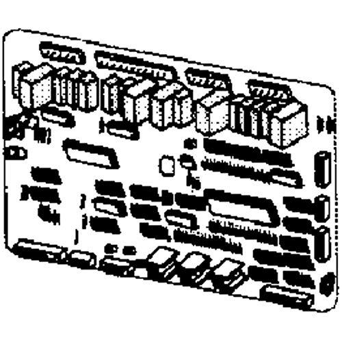 SAMSUNG DA92-00384N Refrigerator Power Control Board Genuine Original Equipment Manufacturer (OEM) Part