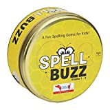 spell buzz | spelling games for kids ages 4-8 boys and girls | see and spell learning toy | educational games for kids | toys for preschool kindergarten, montessori, homeschooling teachers- Multi color