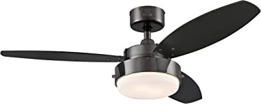 Westinghouse Lighting 7221500 Alloy Ceiling Fan, 42 Inch