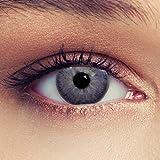 Lente de contacto de color azul, verde, gris, marrón, púrpura; lente suave y natural, color morado