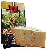 parmigiano reggiano dop vacche rosse, stagionato 24 mesi, 1 kg - + esclusivo sacchetto salvafreschezza - prodotto direttamente dal caseificio del consorzio vacche rosse (etichetta rossa)