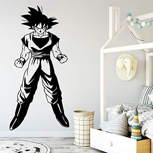 wZUN Dragon Ball Monkey Etiqueta de la Pared Amante de los Animales Decoración de la casa Dormitorio Decoración de jardín de Infantes Decoración del hogar 43X89cm