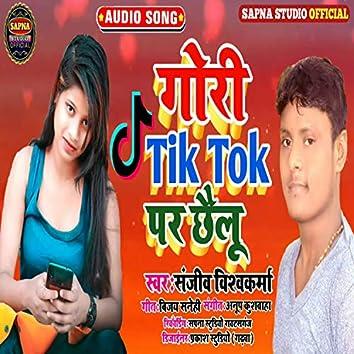 Gori Tik Tok Par Chhailu