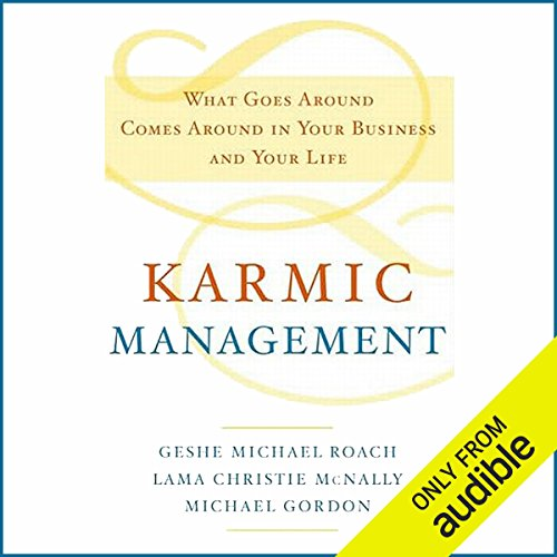 Karmic Management audiobook cover art