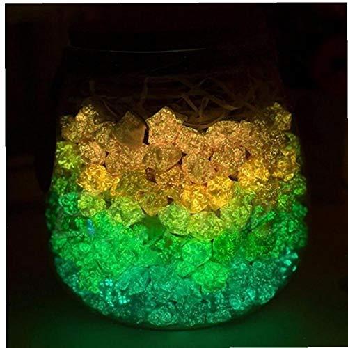AMOYER 1pc Luminous Kunst Origami Lucky Star Papier DIY Sterne Folding Papierstreifen Leuchtet Im Dunkeln Origami Geburtstag Chirstmas Geschenk (zufällige Farbe)