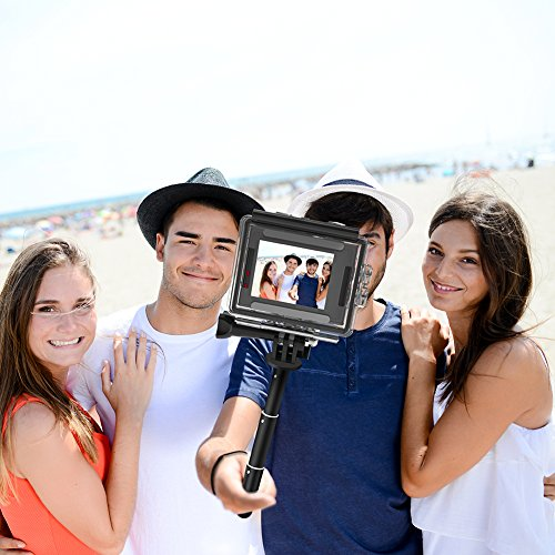Crosstour Action Kamera Selfie Stick für Action-Kamera CT7000 / CT8500 / CT9000 / CT9500 / CT9700