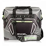 ENGEL ENGTPU-Green HD30 Waterproof Soft-Sided Cooler Bag - Grey/Green, Green & Grey, 30 Quart