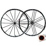 CAMPAGNOLO Shamal Ultra C17 - Juego de 2 ruedas para bicicleta de carreras de 28', ajuste HG 8-11 sch+Flicken