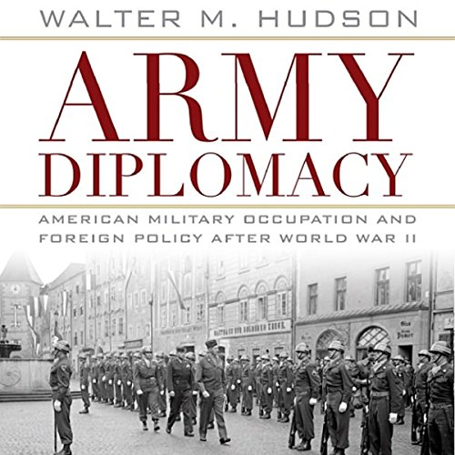 Army Diplomacy audiobook cover art