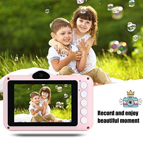 Kids Camera, Children digital camera, 2.8 Inches Front and Rear Dual Camera 8.0MP, 1080P HD camera for kids, USB Rechargeable Toy Camera for Children 3-10 Year Old Birthday Christmas New Year Gift