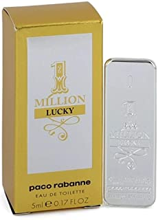 Best Paco Rabanne 1 Million Lucky By Paco Rabanne For Men Edt, 0.17 Oz Mini Review