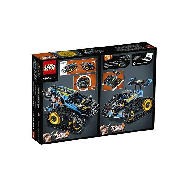 LEGO42095TechnicVehículoAcrobáticoaControlRemotoJuguetedeConstrucción