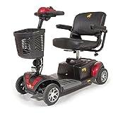 Golden Technologies - Buzzaround XLHD - Travel Scooter - 4-Wheel - Red