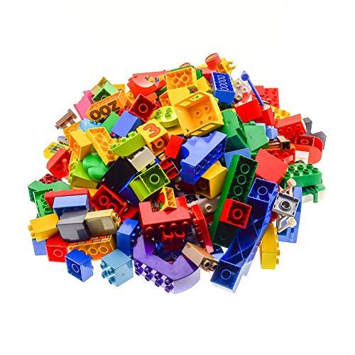 3 Kg Lego Duplo Steine ca 230 Teile Basicsteine Sondersteine Kiloware zufällig Bunt Gemischt