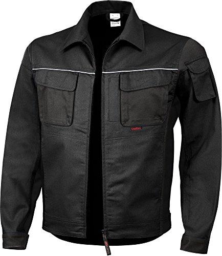 Qualitex PRO Bund-Jacke Arbeits-Jacke MG 245 - schwarz - Größe: XXL