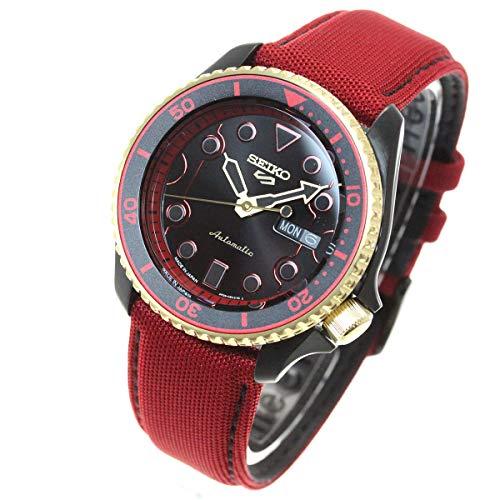 [セイコー]SEIKO 5 SPORTS ストリートファイターV 自動巻き メカニカル 流通限定モデル 腕時計 メンズ ケン KEN セイコーファイブ センス Sense SBSA080
