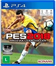 Jogo Pro Evolution Soccer 2018 - Ps4 Mídia Física Usado