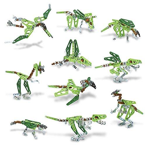 Meccano - 6033323 - Jeu de Construction - Dinosaures 10 Modèles (Niveau 2 - Novice)