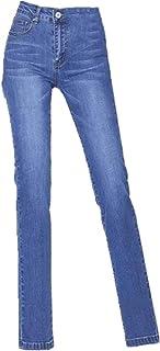 N\P Pantalones Negro Jeans De Las Mujeres De Cintura Alta Pantalones Skinny Stretch Jeans Mujer Slim Fit Pantalones Casual