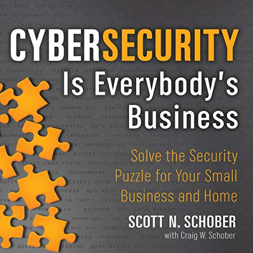 『Cybersecurity Is Everybody's Business』のカバーアート