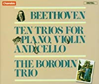 Ten Trios For Violin Piano C by DIMITRI SHOSTAKOVICH (1992-10-09)