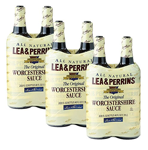 Lea & Perrins Worcestershire Sauce-20 oz, 2 ct (Pack of 3)