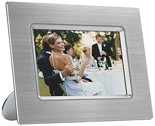 Philips 7-Inch Digital Photo Frame with 6.5-inch Display (Metal)