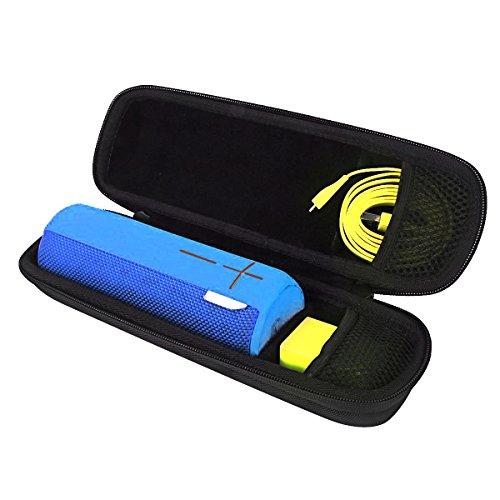 für Ultimate Ears UE Boom 2 tragbarer Bluetooth Lautsprecher.Passt USB-Kabel und Wand Ladegerät Hart Reise Tasche Case von VIVENS