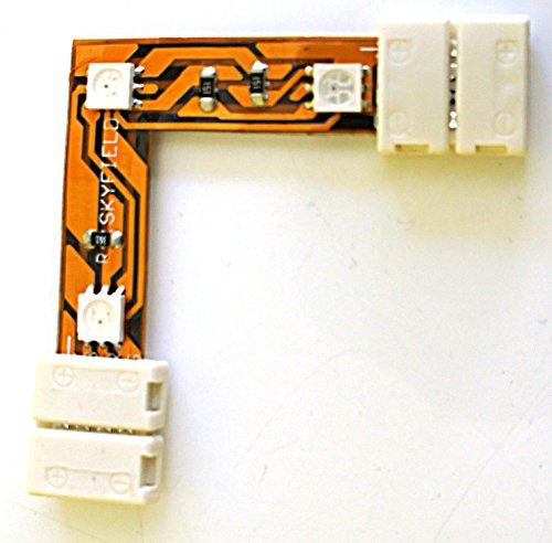 Eckverbinder IP44 +/B/R/G Winkel Verbinder für SKYFIELD LED SMD RGB Streifen Strips