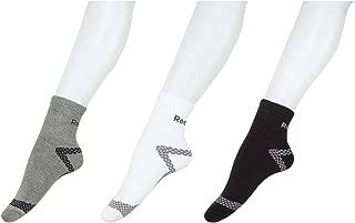 Reebok Men's Cotton Ankle Socks (Pack of 3)