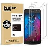 ivoler [Pack de 3] Verre Trempé pour Motorola Moto G5S, Film Protection en Verre trempé écran...