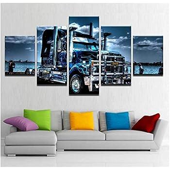 LEotiE SINCE 2004 Plaque en M/étal M/étallique Poster Mural tin Sign 40x30 cm Nostalgique R/étro Voiture Camion AM/ÉRICAIN