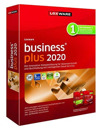 Lexware business plus 2020|Minibox (Jahreslizenz)|für Kleinunternehmer, kaufmännische Einsteiger und Gründer|Software für Buchhaltung und Auftragsbearbeitung