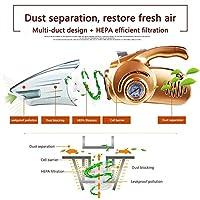 アップグレード 車用掃除機 車の掃除機 ホーム/車/カー 多機能 12V 高品質 超強吸引力 乾湿両用クリーナー 真空吸引3000mba Ammbous