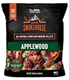 The Andersons Midwest Smokehouse Applewood All-Natural Corn Cob Smoking and Grilling Pellets - 15 lb