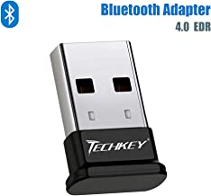 Bluetooth Adapter for PC USB Bluetooth Dongle 4.0 EDR Receiver TECHKEY Wireless Transfer..