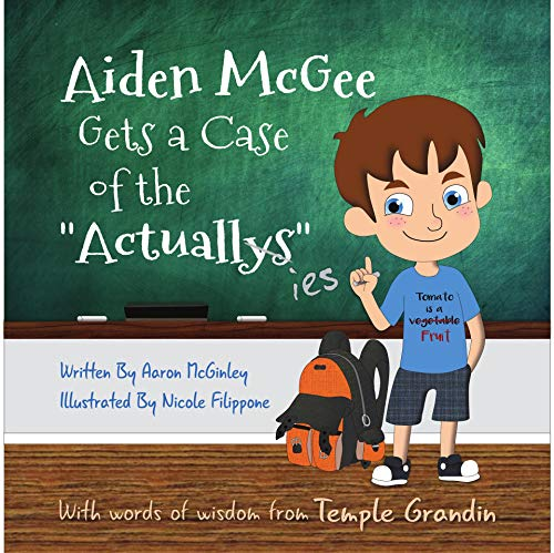 Aiden McGee Gets A Case of The Actuallys by McGinley, Aaron ebook deal