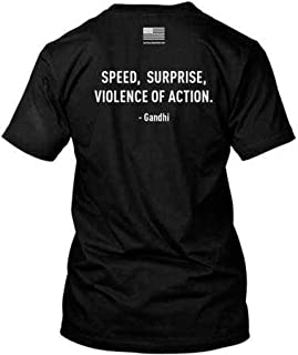 RE Factor Tactical Speed Surprise Violence of Action Printed T-Shirt