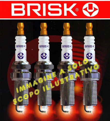 ar14ys + dr15ys9 nr 8 bougies gPL méthane alfa 155 1700 1.7 TS Twin Spark Brisk