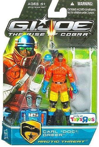 Carl  Doc  Greer Arctic Threat (Pursuit of Cobra) - The Rise of Cobra - Actionfigur von Hasbro