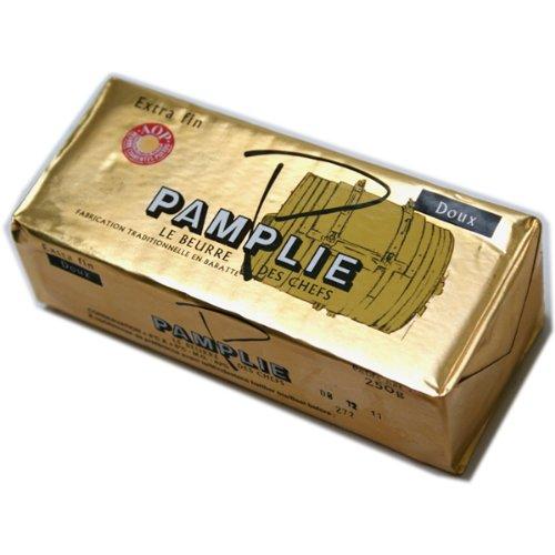 AOCポワトゥシャラン産バターパムプリーPamplie 250g入り 無塩 フランス産