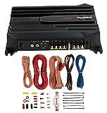 New Sony XM-N502 500 Watt 2-Channel Class AB Car Audio Amplifier Amp + Amp Kit (Renewed)
