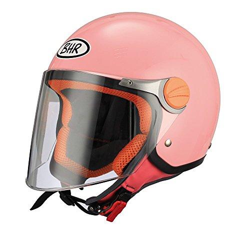 BHR 94098 Motorrad Helm Kid 713, Rosa, 49/50