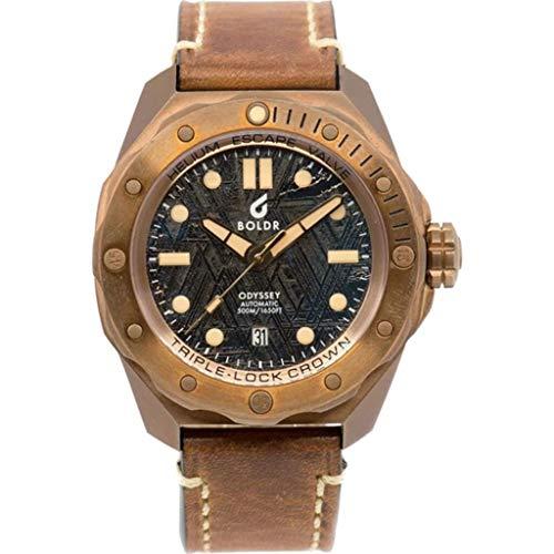 BOLDR Odyssey Automatic Dive Wrist Watch | Bronze Meteoblack
