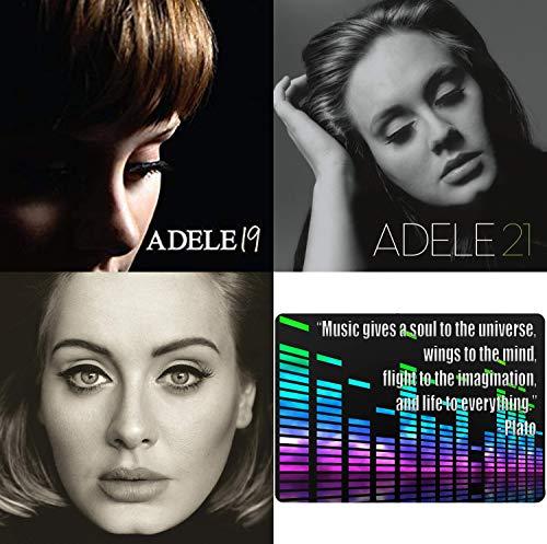 Adele: Complete Studio Album CD Collection with Bonus Art Card