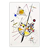 CanvasArts Zarte Spannung - Wassily Kandinsky - Poster (60