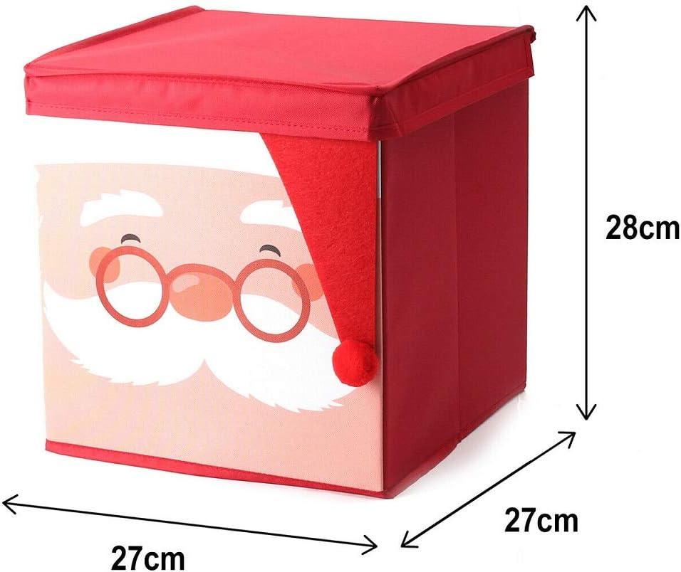 Decorations /& Lights NIGMA Christmas Xmas Storage Zip Bag for Tree Storage Box Red Santa Storage Box