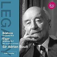 Legacy: Sir Adrian Boult Conducts Brahms & Elgar